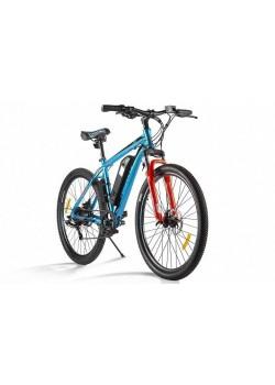 Электровелосипед Eltreco XT 600 D (Сине/Оранжевый)