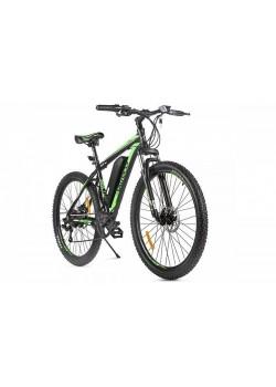 Электровелосипед Eltreco XT 600 D (Черно/Зеленый)