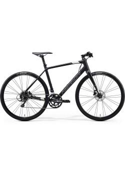 Велосипед гибридный Merida Speeder 200 MattBlack/Silver(2020)