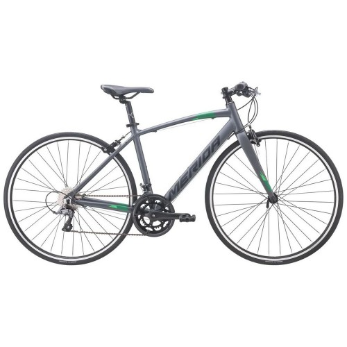 Велосипед гибридный Merida Speeder GT-R 80 MattAntracite/Black/Green(2020)