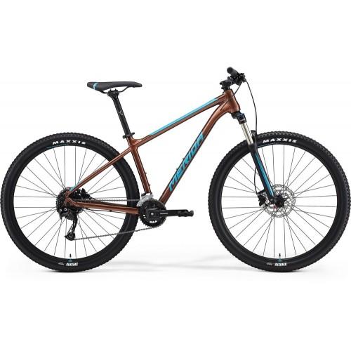 Велосипед горный Merida Big.Nine 100-2x Bronze/Blue