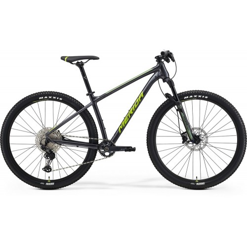 Велосипед горный Merida Big.Nine SLX Edition Anthracite/Green/Silver
