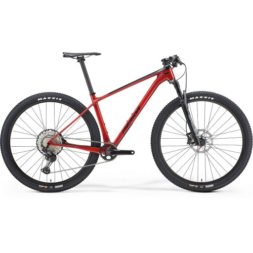 Велосипед горный Merida Big.Nine XT Black/X'MasRed