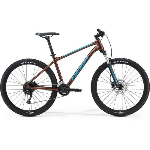 Велосипед горный Merida Big.Seven 100-3x Bronze/Blue
