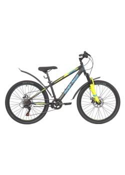 Велосипед подростковый RUSH HOUR RX 405 DISC (2021) Черный