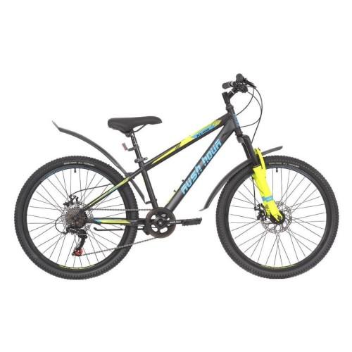 Велосипед подростковый RUSH HOUR RX 405 DISC Черный