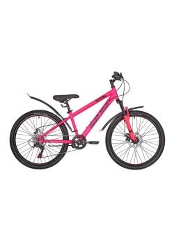 Велосипед подростковый RUSH HOUR RX 405 DISC (2021) Розовый