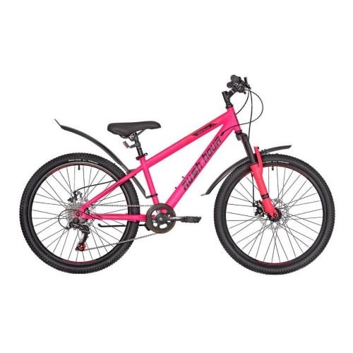 Велосипед подростковый RUSH HOUR RX 405 DISC Розовый
