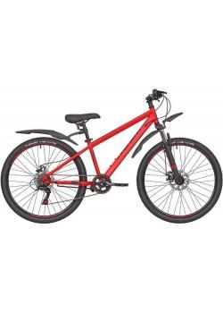 Велосипед горный RUSH HOUR NX 605 DISC (2021) Красный