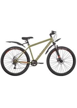 Велосипед горный RUSH HOUR NX 675 DISC (2021) Хаки