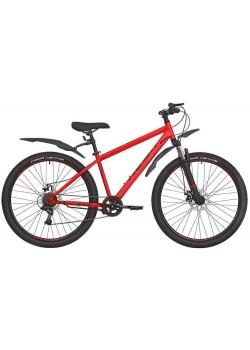 Велосипед горный RUSH HOUR NX 675 DISC (2021) Красный