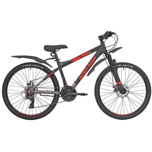 Велосипед подростковый RUSH HOUR XS 650 DISC Черный