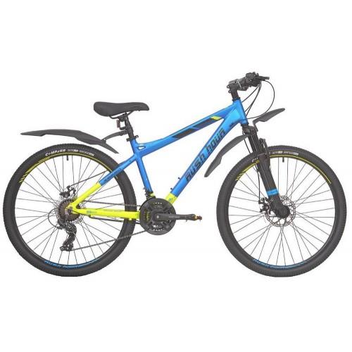 Велосипед подростковый RUSH HOUR XS 650 DISC Сине/Желтый