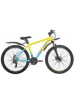 Велосипед горный RUSH HOUR XS 725 DISC (2021) Желтый
