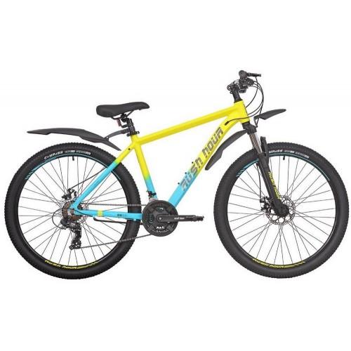 Велосипед горный RUSH HOUR XS 725 DISC Желтый