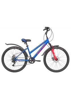 Велосипед женский RUSH HOUR LADY 505 DISC (2021) Синий