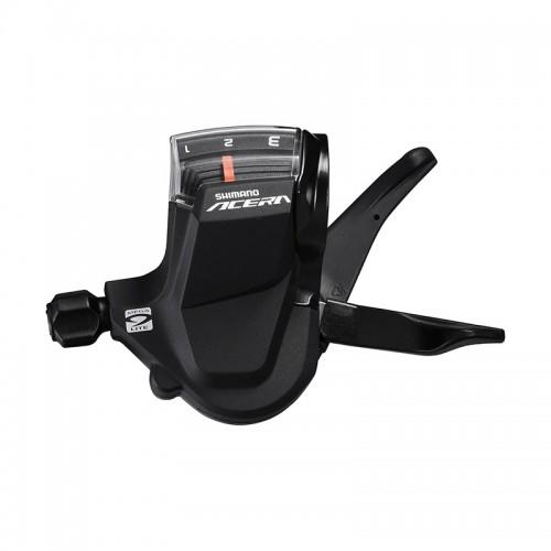 Манетка переключения скоростей Shimano Acera M3000 левая 3 скорости
