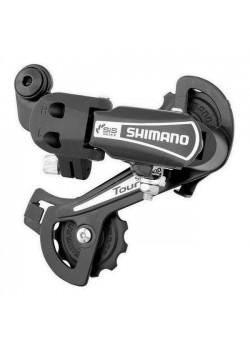 Переключатель задний Shimano Tourney TY21-B GS болт чёрный